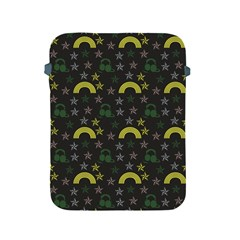 Music Star Dark Grey Apple Ipad 2/3/4 Protective Soft Cases