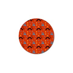 Music Stars Red Golf Ball Marker (10 Pack)