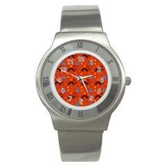 Music Stars Red Stainless Steel Watch