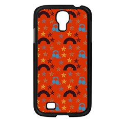 Music Stars Red Samsung Galaxy S4 I9500/ I9505 Case (black)