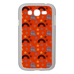 Music Stars Red Samsung Galaxy Grand Duos I9082 Case (white)