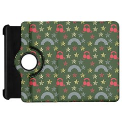 Music Stars Grass Green Kindle Fire Hd 7