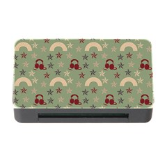 Music Stars Green Memory Card Reader With Cf
