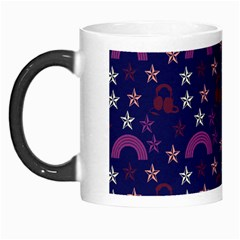 Music Stars Navy Morph Mugs