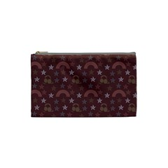 Music Stars Brown Cosmetic Bag (small)