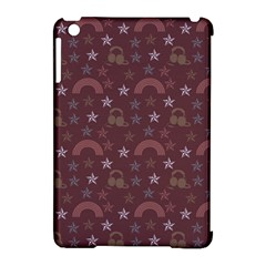 Music Stars Brown Apple Ipad Mini Hardshell Case (compatible With Smart Cover)