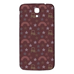 Music Stars Brown Samsung Galaxy Mega I9200 Hardshell Back Case