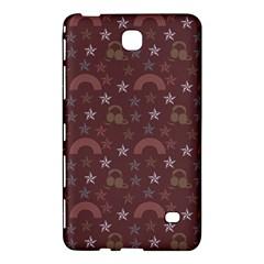 Music Stars Brown Samsung Galaxy Tab 4 (7 ) Hardshell Case