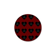 Cupcake Blood Red Black Golf Ball Marker (4 Pack)