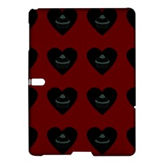 Cupcake Blood Red Black Samsung Galaxy Tab S (10 5 ) Hardshell Case