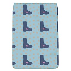 Deer Boots Teal Blue Flap Covers (l)