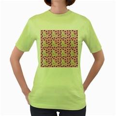 Deer Boots Pink Grey Women s Green T Shirt