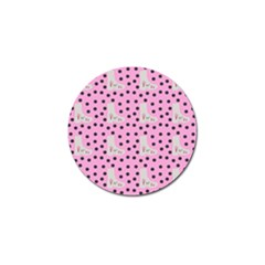 Deer Boots Pink Grey Golf Ball Marker (10 Pack)