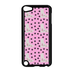 Deer Boots Pink Grey Apple Ipod Touch 5 Case (black)