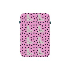 Deer Boots Pink Grey Apple Ipad Mini Protective Soft Cases
