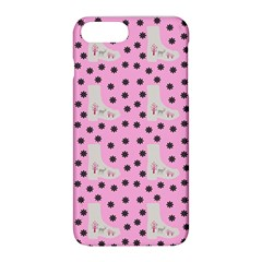 Deer Boots Pink Grey Apple Iphone 8 Plus Hardshell Case