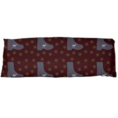 Deer Boots Brown Body Pillow Case (dakimakura)