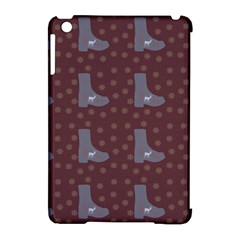 Deer Boots Brown Apple Ipad Mini Hardshell Case (compatible With Smart Cover)