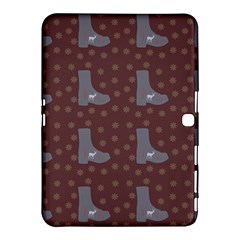 Deer Boots Brown Samsung Galaxy Tab 4 (10 1 ) Hardshell Case