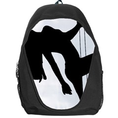 Pole Dancer Silhouette Backpack Bag