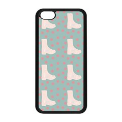 Deer Boots Blue White Apple Iphone 5c Seamless Case (black)