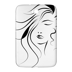 Womans Face Line Samsung Galaxy Note 8 0 N5100 Hardshell Case