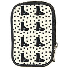 Deer Boots White Black Compact Camera Cases