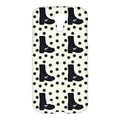 Deer Boots White Black Samsung Galaxy S4 I9500/i9505 Hardshell Case