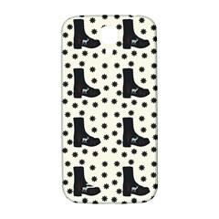 Deer Boots White Black Samsung Galaxy S4 I9500/i9505  Hardshell Back Case