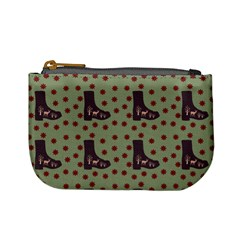 Deer Boots Green Mini Coin Purses
