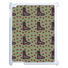 Deer Boots Green Apple Ipad 2 Case (white)