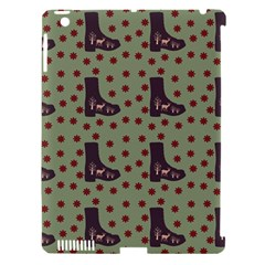 Deer Boots Green Apple Ipad 3/4 Hardshell Case (compatible With Smart Cover)