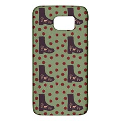 Deer Boots Green Galaxy S6