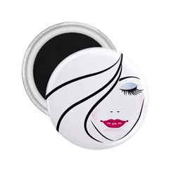 Makeup Face Girl Sweet 2 25  Magnets