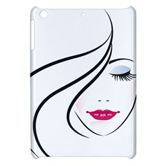 Makeup Face Girl Sweet Apple Ipad Mini Hardshell Case