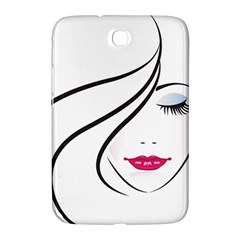 Makeup Face Girl Sweet Samsung Galaxy Note 8 0 N5100 Hardshell Case