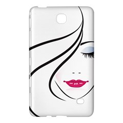 Makeup Face Girl Sweet Samsung Galaxy Tab 4 (8 ) Hardshell Case