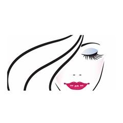 Makeup Face Girl Sweet Satin Wrap