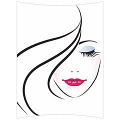 Makeup Face Girl Sweet Back Support Cushion