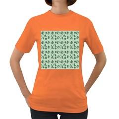 Green Boots Women s Dark T Shirt
