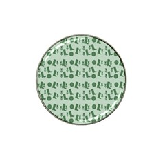 Green Boots Hat Clip Ball Marker (10 Pack)