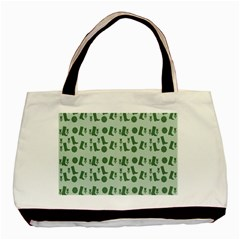 Green Boots Basic Tote Bag