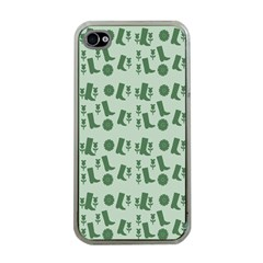 Green Boots Apple Iphone 4 Case (clear)