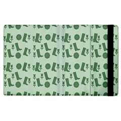 Green Boots Apple Ipad 2 Flip Case