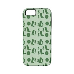 Green Boots Apple Iphone 5 Classic Hardshell Case (pc+silicone)