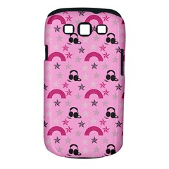 Music Stars Rose Pink Samsung Galaxy S Iii Classic Hardshell Case (pc+silicone)
