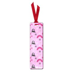 Music Stars Rose Pink Small Book Marks