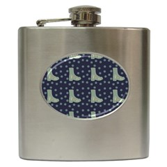 Blue Boots Hip Flask (6 Oz)