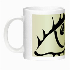 Drawn Eye Transparent Monster Big Night Luminous Mugs