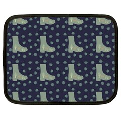 Blue Boots Netbook Case (large)